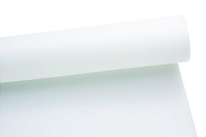 Nylon Dublado (Acoplado) Liso Branco