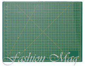 Base de corte 45x30 (A3) Verde