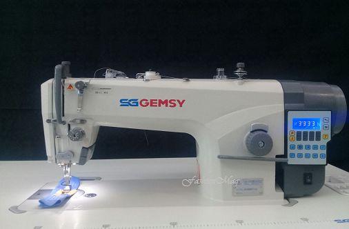 Máquina Gemsy Reta Eletrônica 220v