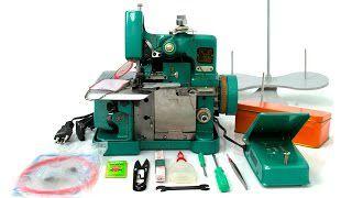 Máquina Overlock Chinezinha Semi Industrial