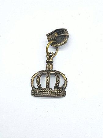 Cursor de Zíper nº5 Coroa ouro velho