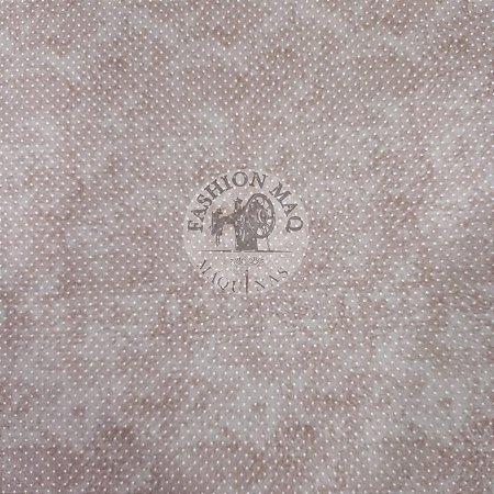 Tecido Magali Fundo branco Tricoline 100% Algodão