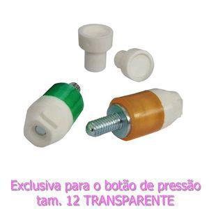 Matriz Botão de Plástico tamanho 12 Transparente Ritas (tic - tac)