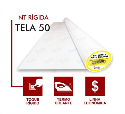 ENTRETELA TERMO COLANTE FIORELLA 50TC  (O METRO)