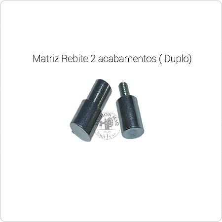 Matriz Para Aplicar Rebite 2 Acabamentos tamanhos 2 ou 3