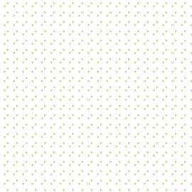 TECIDO MINI CORAÇÕES CREME TRICOLINE 100% ALGODÃO 0,50 POR 1,50 LARGURA