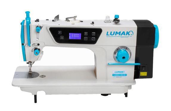 MÁQUINA LUMAK RETA DIRECT DRIVE LU8800D + BRINDES