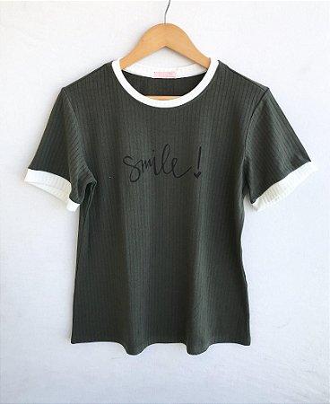 Tee luxo Smile - Varanda