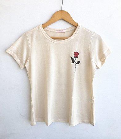 Tee luxo Rosa - Varanda