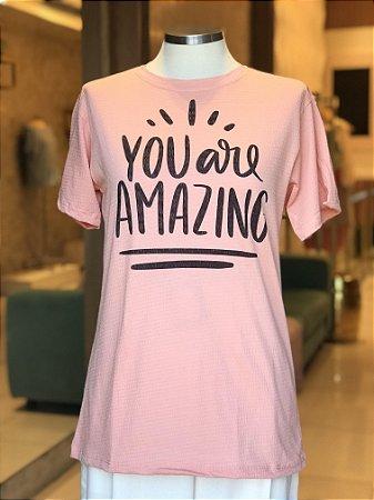 Luxo Blusão You are Amazing - Onde mora a Gratidão