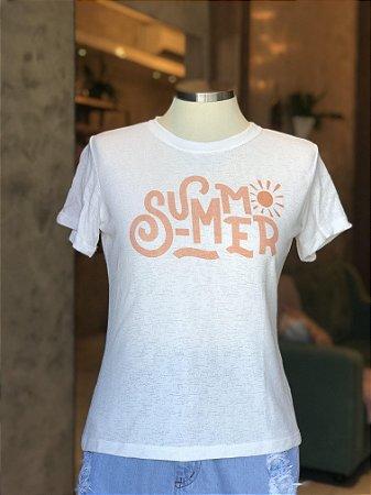 Tee luxo Summer - Energia boa