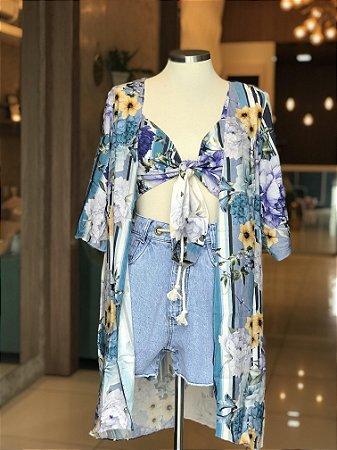 Kimono Estampado - Litoral