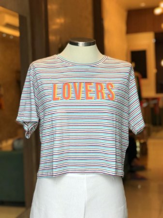 Cropped luxo Lovers - AMAR