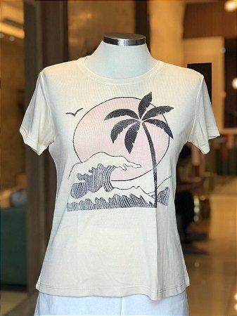 Tee luxo Ilha - AMAR