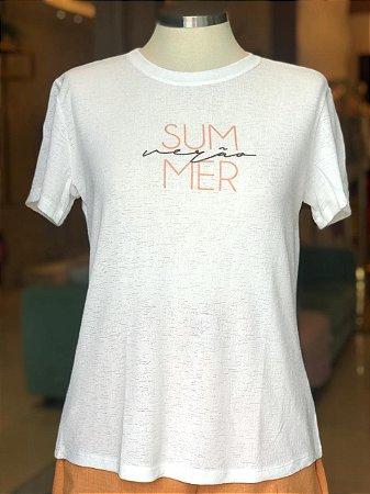 Tee luxo SUMMER - Por Onde For