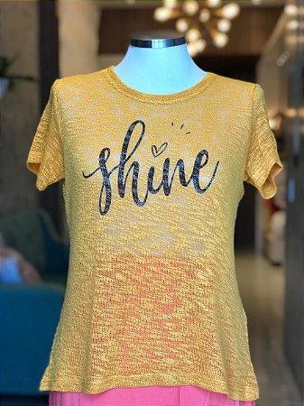 Tee luxo Shine - CAMINHO