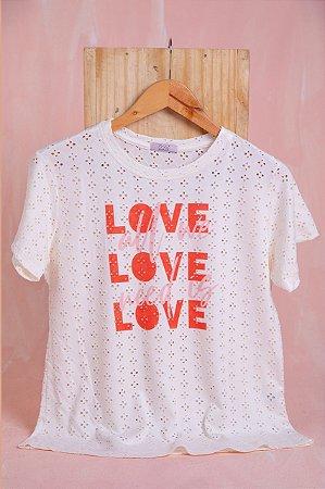 Tee Luxo- Love will