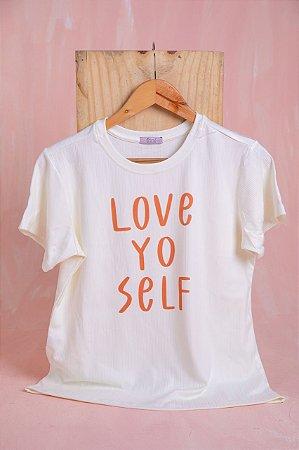 Tee Luxo- love yo Self