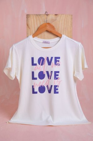 Tee Luxo- love love