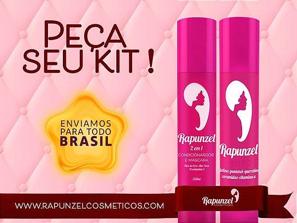 Kit Rapunzel: Shampoo e 2 em 1 PREÇO PROMOCIONAL