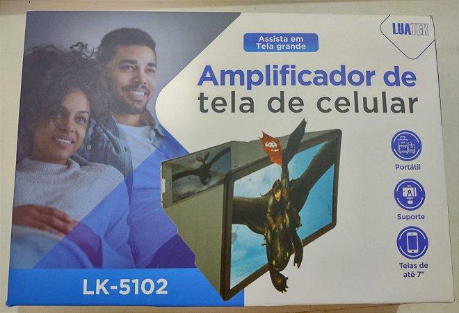 """amplificador de tela de celular ate 7"""" polegadas Luatek LK-5102"""