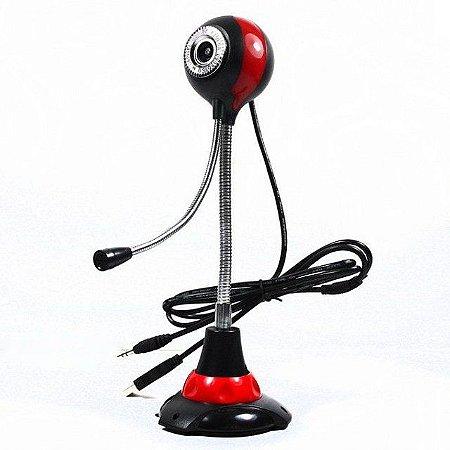 Webcam Com Microfone Pc Notebook