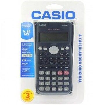 Calculadora Cientifica Casio FX-82MS 240 funções 100% ORIGINAL