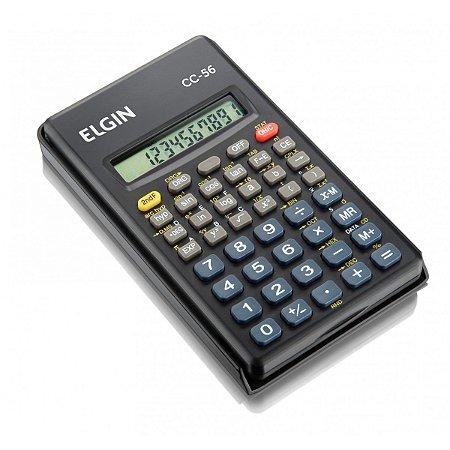 Calculadora Cientifica Elgin CC56 com 56 funções 100% ORIGINAL