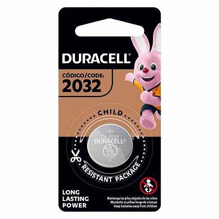 pilha bateria cr2032 3v tipo moeda Duracell