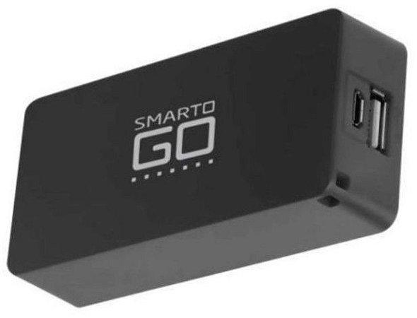 Carregador Portatil Power Bank 4000mAH Multilaser SmartGO CB125