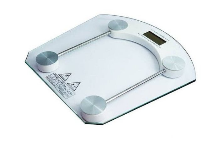 Balança Digital 180Kg banheiro corporal com vidro temperado Xtrad XT-206
