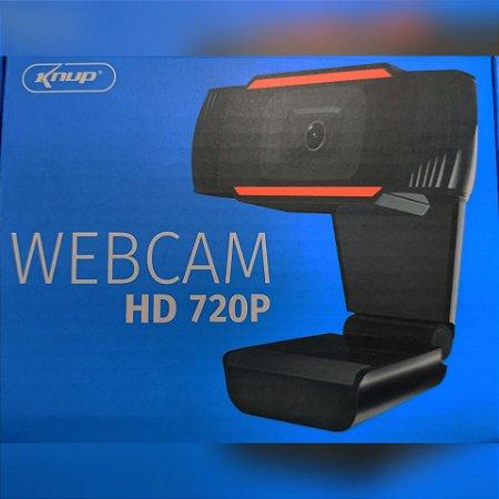 Webcam HD 720P com Microfone Knup KP-CW100