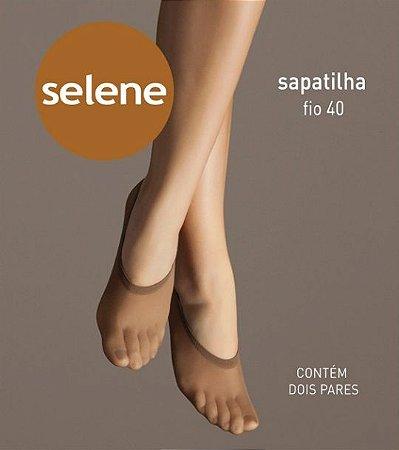 Meia Selene Sapatilha Fio 40 (DÚZIA)