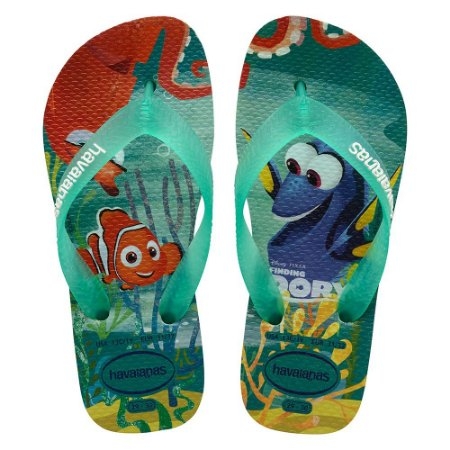 Havaianas Kids Nemo e Dory - Verde