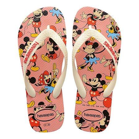 Havaianas Kids Disney Stylish - Rosa Claro