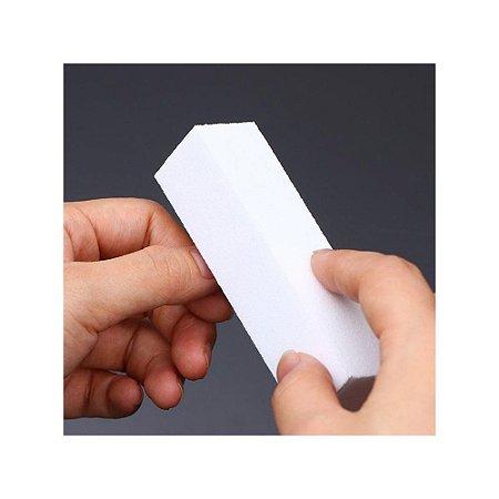 Lixa bloco branco polidor