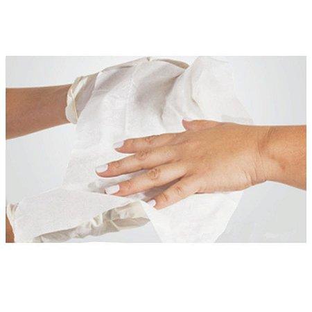 Toalha para manicure descartavel Higi Beauti 20x30 cm c/ 100un