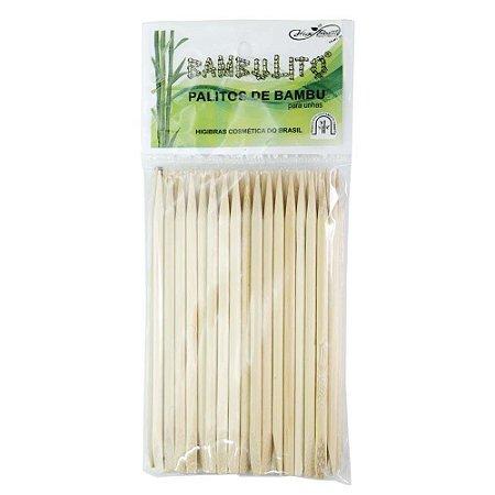Palitos de bambu 12 cm c/ 50 bambulitos