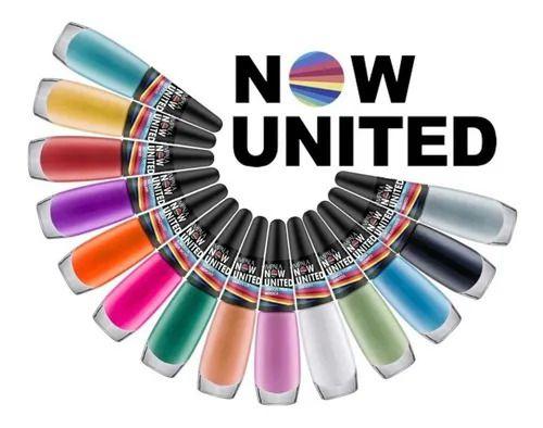 Now United coleção de esmalte da impala com 14 unidades