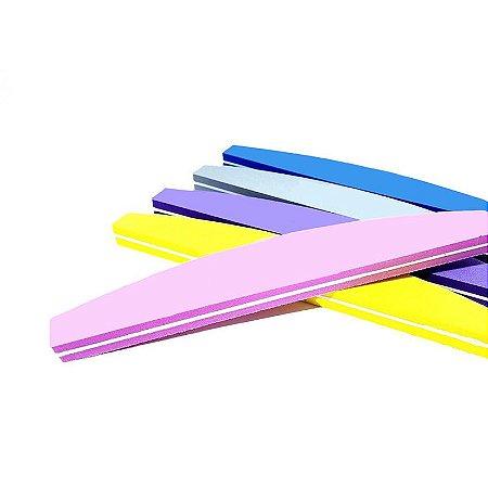 Lixa buffer coloridas Fan nails