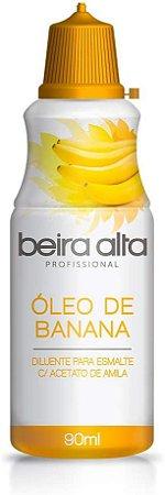 Oleo de Banana diluente para esmalte com acetato de amila Beira Alta 90ml