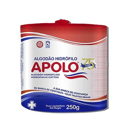 Algodão hidrófilo rolo 250g Apolo