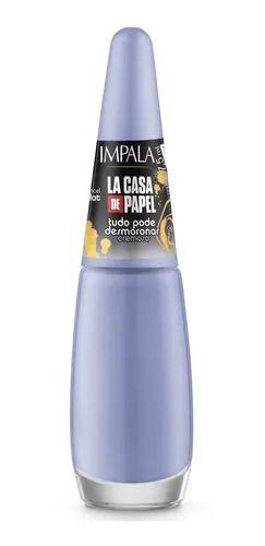 Esmalte Impala La Casa De Papel Cremoso Tudo Pode Desmoronar 7,5ml