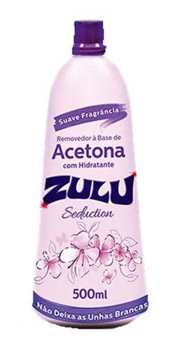 Removedor a base de acetona Zulu com hidratante 500 ml