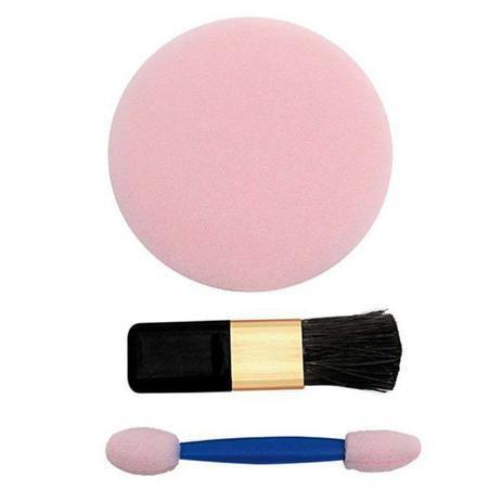 Kit de esponja pó Aplicador de sombra/blush Santa clara