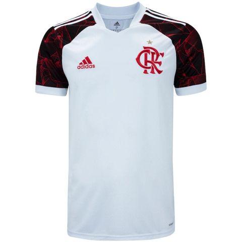 Camisa de Time Flamengo II Branca Masculina