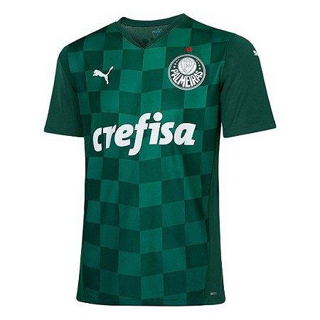 Camisa de Time Palmeiras I Verde Masculina