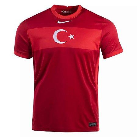 Camisa de Time Turquia I Vermelha Masculina