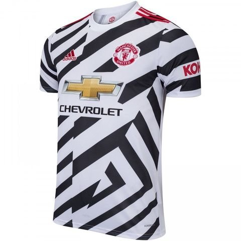 Camisa de Time Manchester United III Branca Masculina