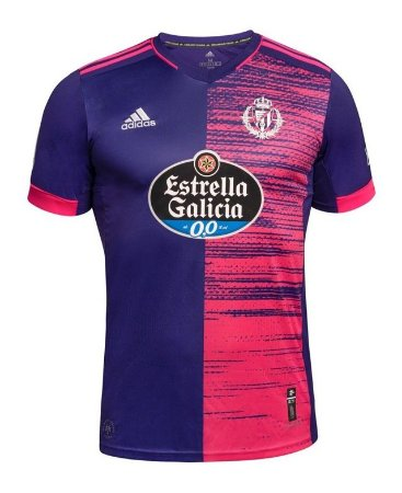 Camisa de Time Real Valladolid II Masculina
